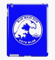 Blue Wave 2018 Vote Blue iPad Case/Skin