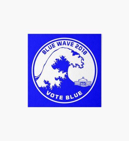 Blue Wave 2018 Vote Blue Art Board