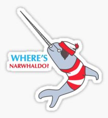 Narwhaldo Sticker