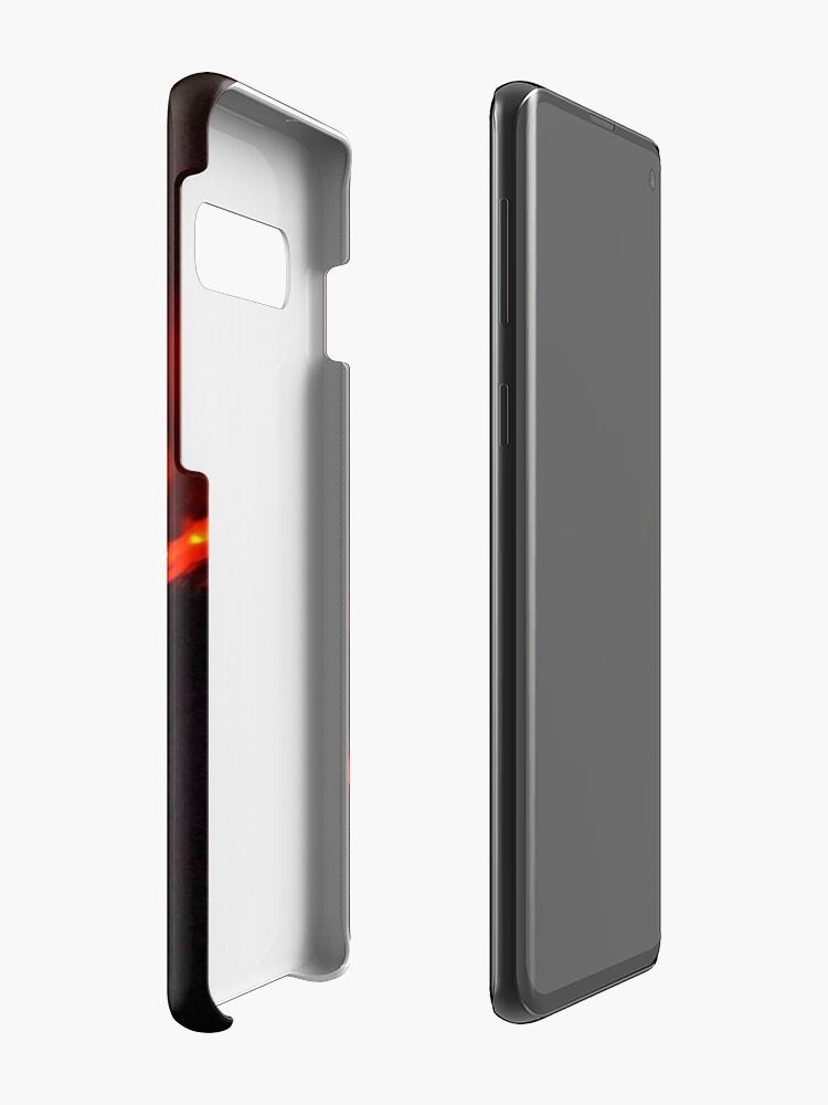 Alternative Ansicht von Lavafluss Der Ätna Hüllen & Klebefolien für Samsung Galaxy