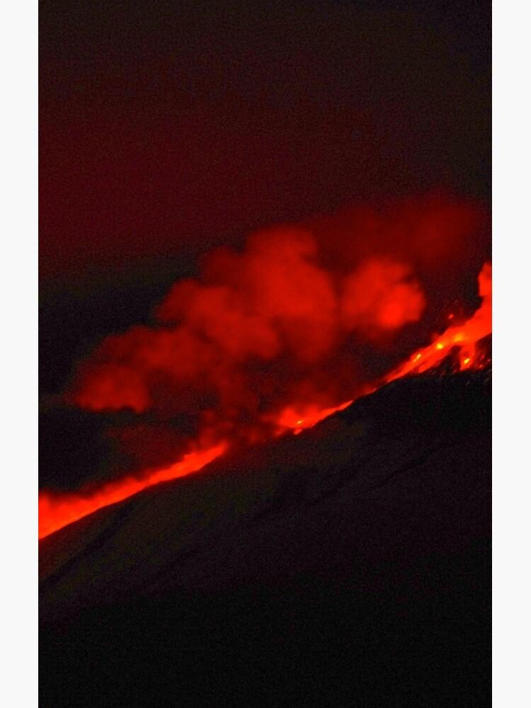 Lavafluss Der Ätna von Lyreb