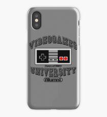 Videogames University iPhone Case/Skin