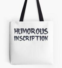 Humorous Inscription I Top Sarcasm Level I ABUTILON I KARIKATURUS Tote Bag