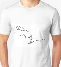 snowboarder skiing winter sports T-Shirt