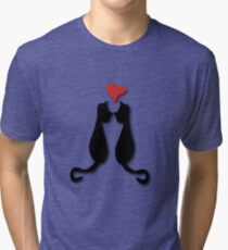 Cats in love Tee Tri-blend T-Shirt