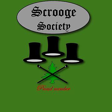 Bah Humbug Scrooge SocieTEE design by patjila