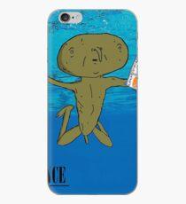 Clarence Nevermind Nirvana (PARODY) iPhone Case