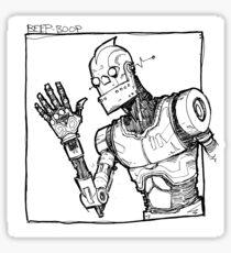 Robot Hello Sticker