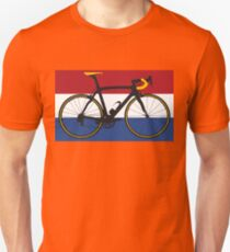 Bike Flag Netherlands (Big - Highlight) T-Shirt