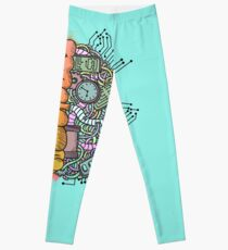 Gehirnmechanik Leggings