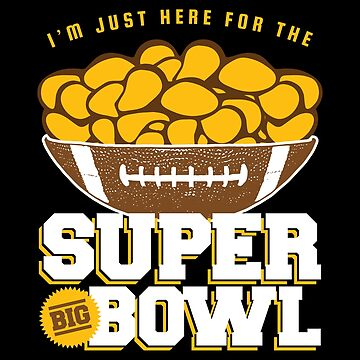 Super Big Bowl of Chips for the Superbowl by DOODL