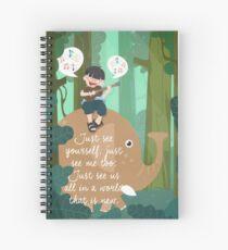 Song 139 Spiral Notebook