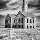 Abandon Lighthouse (Klein Curacao) by Randy  LeMoine