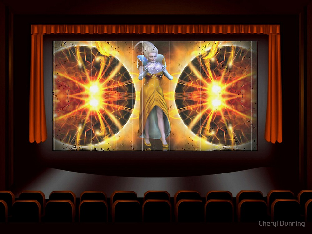 in the movies by Cheryl Dunning