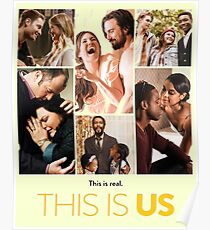 Its Real This Is Us Poster