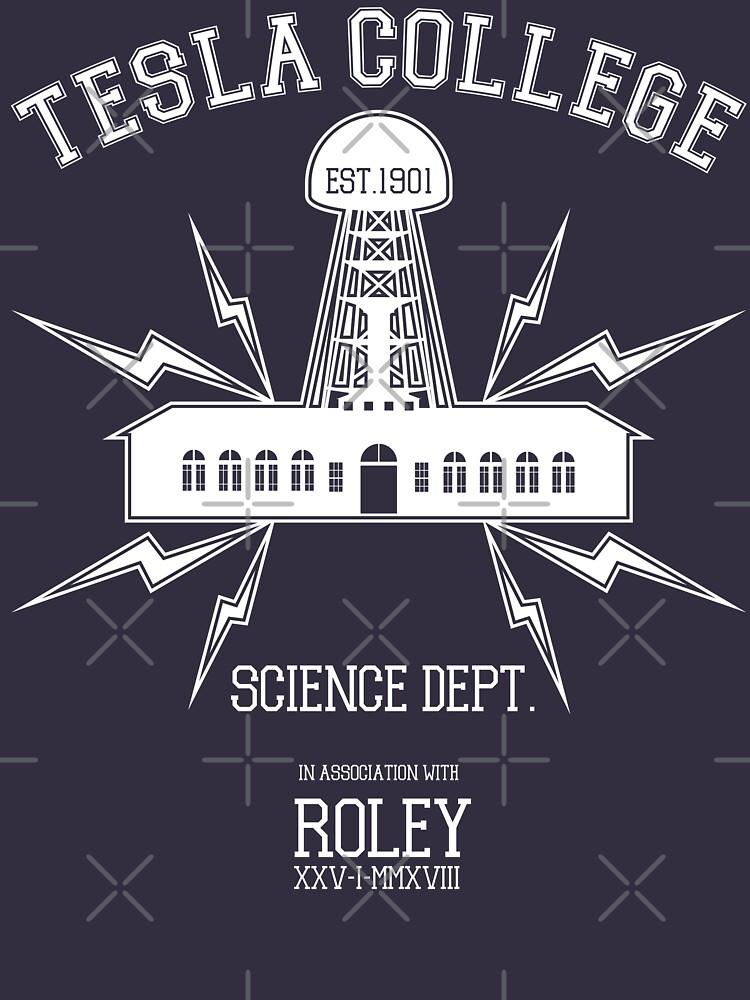 Tesla College by RoleyShop