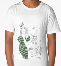 You Only Live Once Princess Long T-Shirt