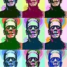 Frankenstein Pop Art by Icarusismart