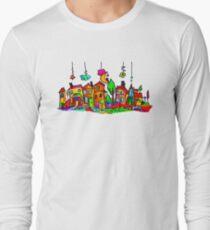 Little Houses Long Sleeve T-Shirt