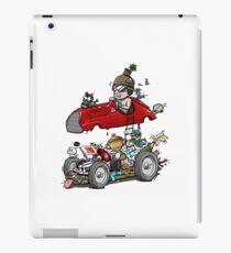 Italian Culture Racing Antique Car Cartoon iPad Case/Skin