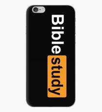 Bible Study [parody logo] iPhone Case