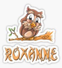 Roxanne Owl Sticker