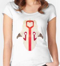 Juggernaut Low Poly Art Women's Fitted Scoop T-Shirt