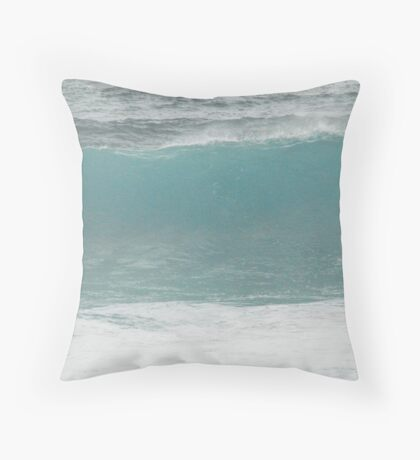 Wave Beauty Throw Pillow