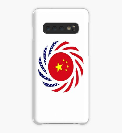 Chinese American Multinational Patriot Flag Series Case/Skin for Samsung Galaxy