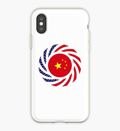 Chinese American Multinational Patriot Flag Series iPhone Case