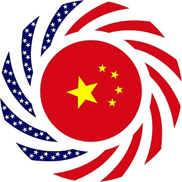 Chinese American Multinational Patriot Flag Series by carbonfibreme