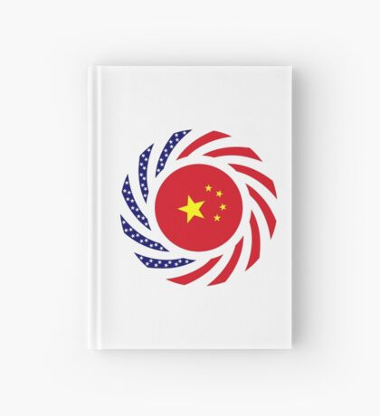 Chinese American Multinational Patriot Flag Series Hardcover Journal