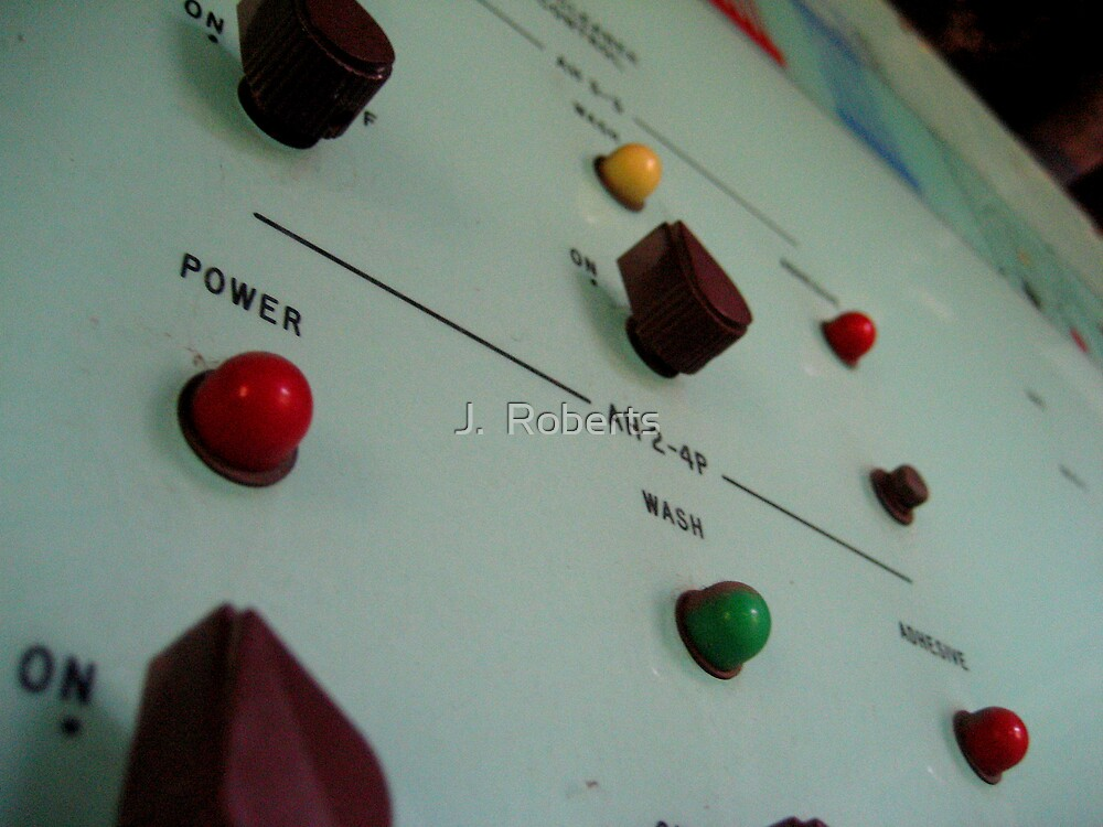 Knobs and Switches by J.  Roberts