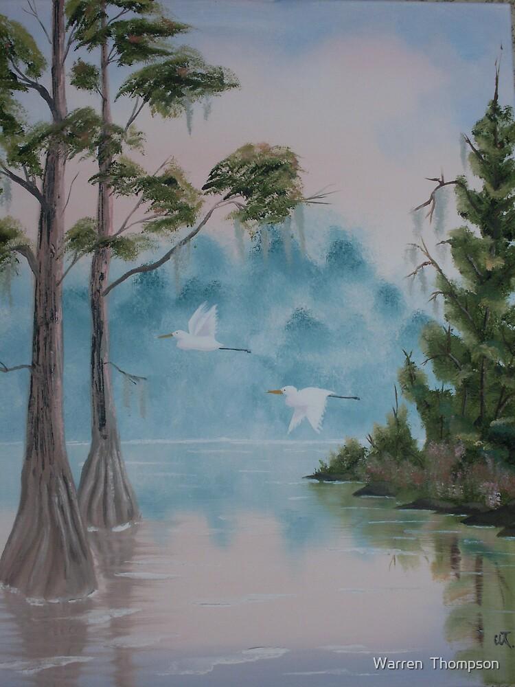 Suwannee Bayou by Warren  Thompson