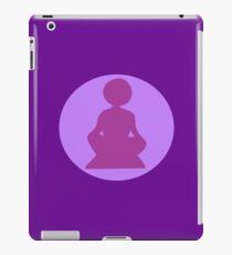 Yoga Silhouette iPad Case/Skin