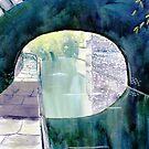 'Neath the Arches, Skipton Canal by Glenn  Marshall