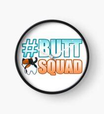 #ButtSquad Clock