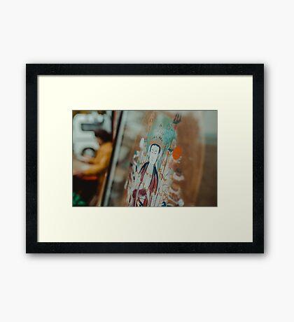 Spiritual Vibes Framed Print