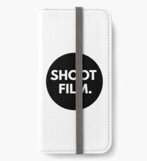 SHOOT FILM. iPhone Wallet/Case/Skin