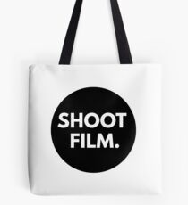 SHOOT FILM. Tote Bag