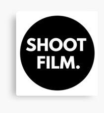 SHOOT FILM. Canvas Print