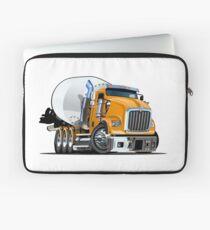 Cartoon Mixer Truck Laptop Sleeve