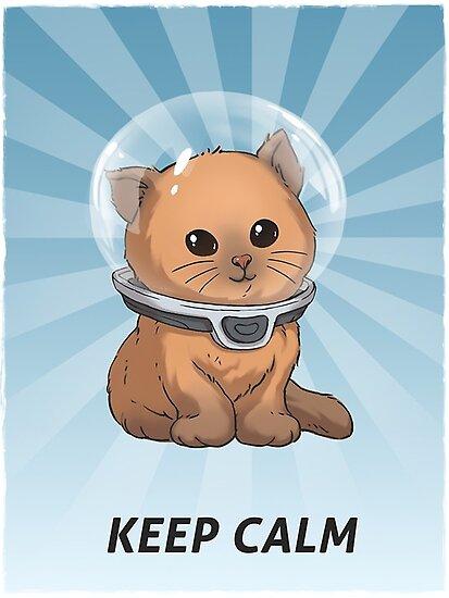 Behalte Ruhe Kitty von Glyphz