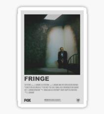 Fringe Minimalist Poster v.2 Sticker