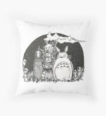 Studio Ghibli Throw Pillow