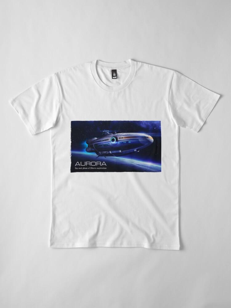 Alternate view of Aurora Flying Premium T-Shirt