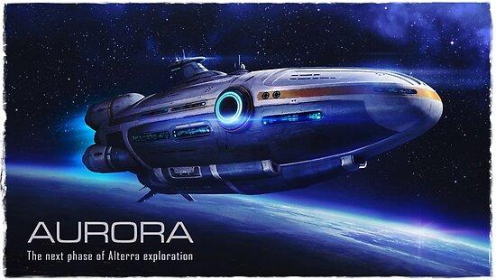 Aurora fliegen von Glyphz