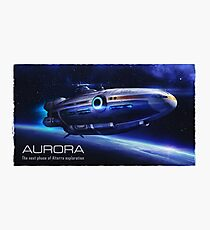 Aurora Flying Photographic Print