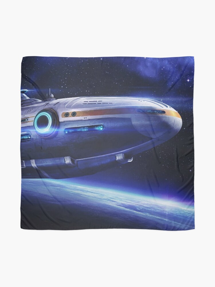 Alternate view of Aurora Flying Scarf