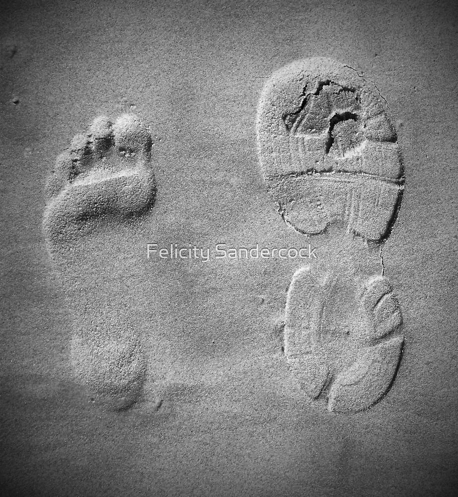 Sandy feet by Felicity Sandercock
